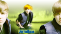Justin Bieber Wide Screen kertas dinding