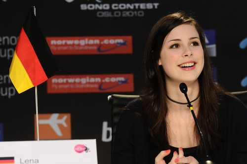 Lena at the Press Conferences