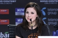 Lena at the Winner's press conference - lena-meyer-landrut photo