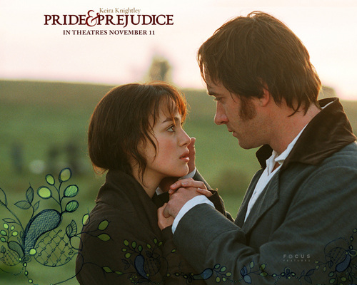 Jane Austen Обои titled Lizzy and Mr. Darcy