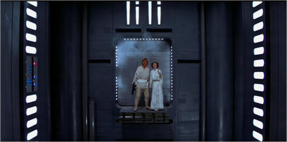 Star wars: a new hope luke and leia