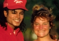 MJ and Debbie  - michael-jackson photo
