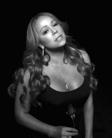 Mariah 2010 Black And White Photoshoot!