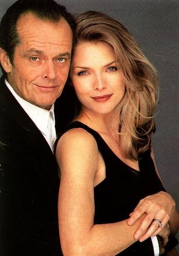 Michelle Pfeiffer and Jack Nicholson