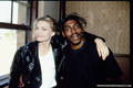 Michelle with Coolio