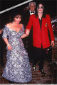 Mike with Liz Taylor! - michael-jackson photo