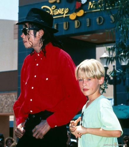 Mike with Mac @ Disney!