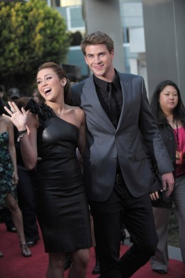 Miley&Liam♥. @ Premiere The Last Song