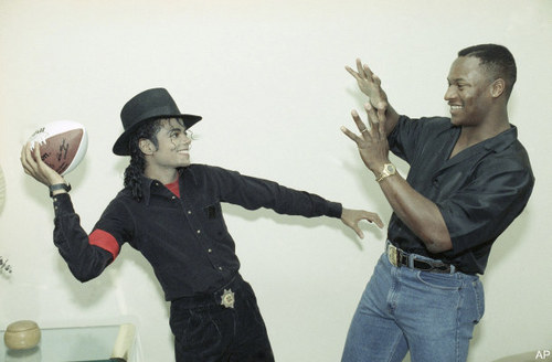 Mj having fun