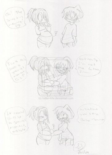 Mpreg:Bubblegum:Special Moment