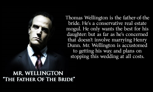 Mr. Wellington: The Father of the Bride