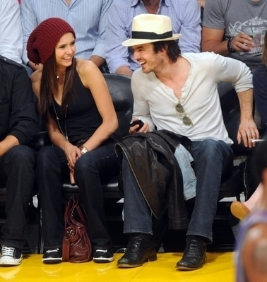 Nina & Ian @ LA Lakers Game