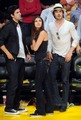 Nina and Ian on Laker's Game - ian-somerhalder photo