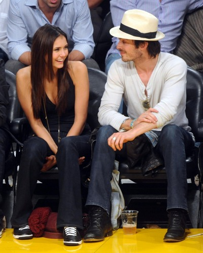 Nina and Ian on Laker's Game