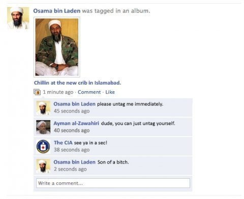 Osama bin Laden caught!