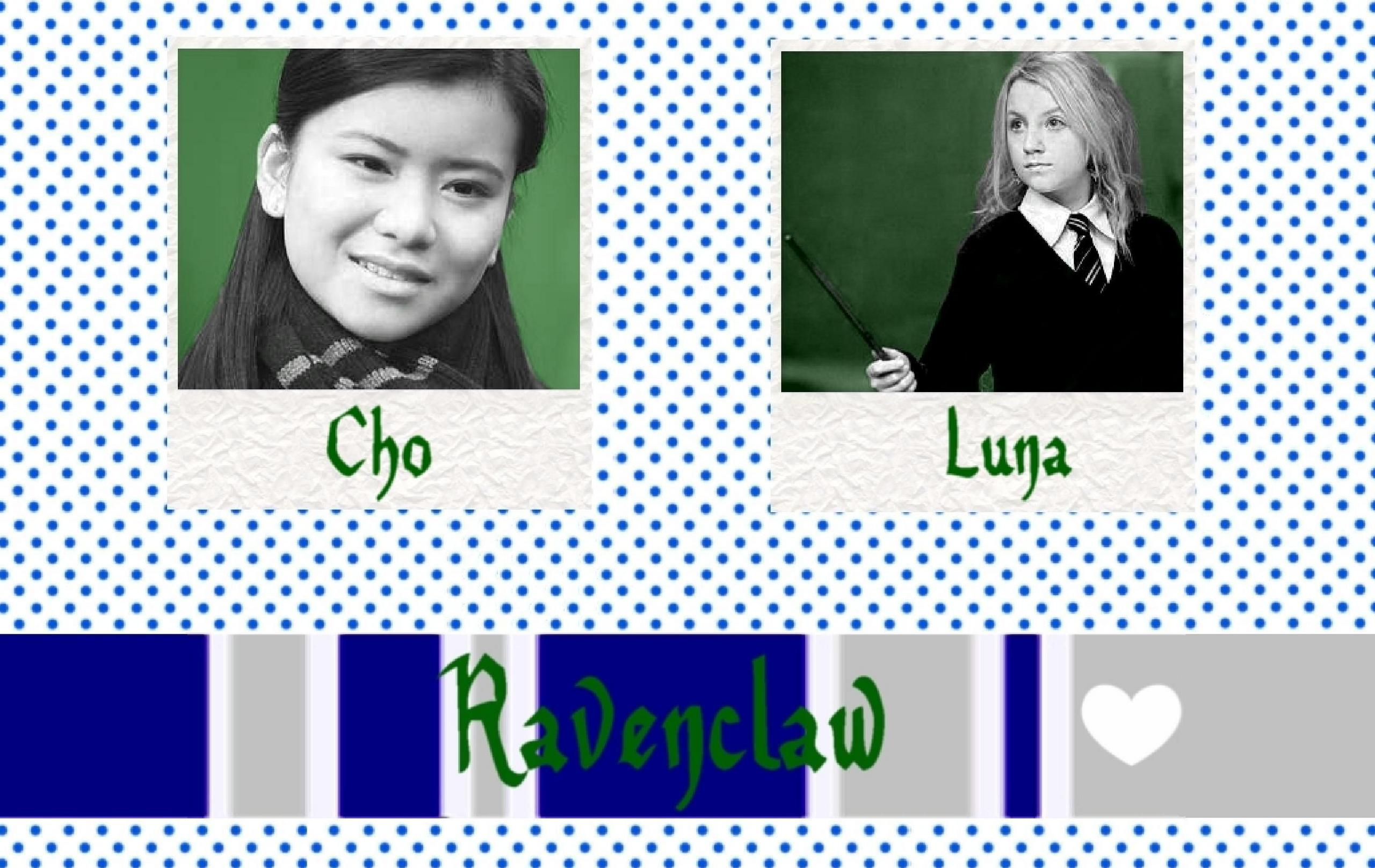 Luna Lovegood, Fluer, Hermoine Granger, Ginny Weasley, Cho ...  |Luna Lovegood And Cho Chang