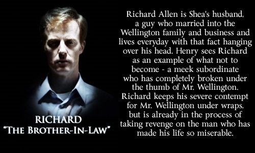 Richard:  The Brother-In-Law - harpers-island Fan Art