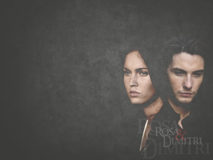 Rose and Dimitri - Vampire Academy Fan Art (12529645) - Fanpop