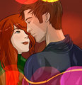 Scott and Jean - scott-summers-and-jean-grey fan art
