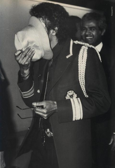 Shy Michael Jackson