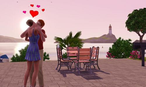 Sims 3 キッス