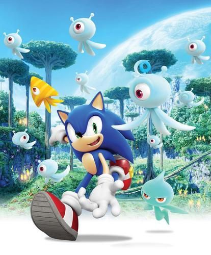 Sonic the Hedgehog wallpaper titled Sonic Colors