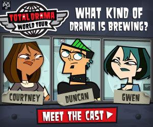 Total Drama World Tour দেওয়ালপত্র called TDWT