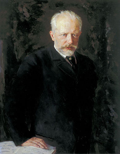 Tchaikovsky compossing