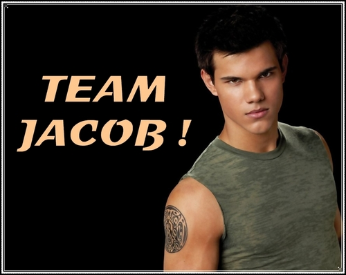 Twilight Series wallpaper titled Team Jacob !