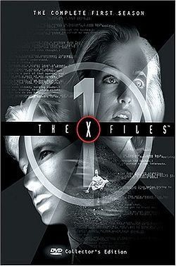 The X-Files season 1 box set cover