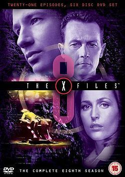 The X-Files season 8 box set cover