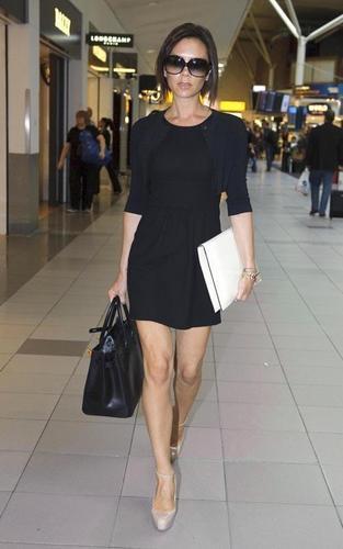 Victoria Beckham at Heathrow Airport (May 8)