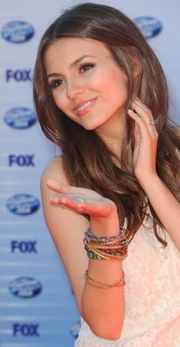 Victoria Justice in American Idol