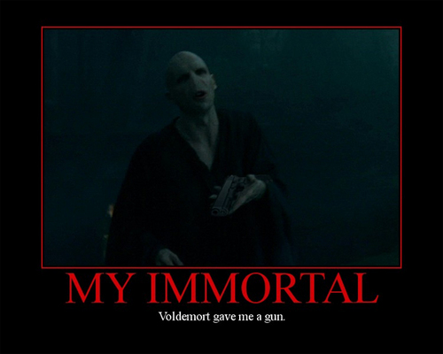 Voldemort Gave Me A Gun