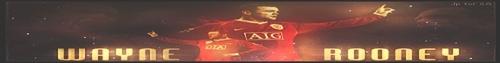 Wayne Rooney Banner