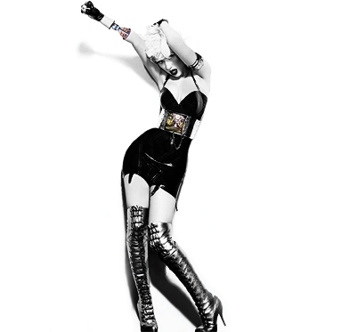 Xtina Bionic Black And White Pictures!