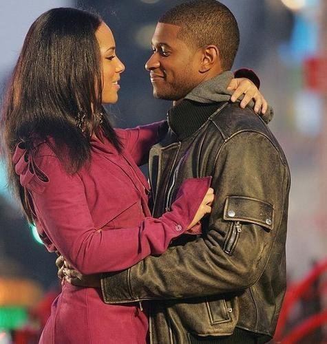 usher and alicia keys