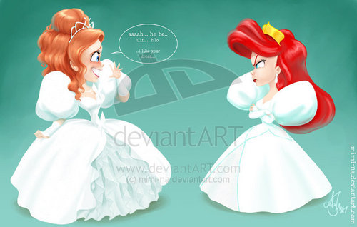 giselle and ariel