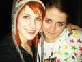 hayley with a fan - paramore photo