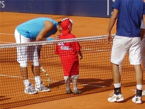 rafa and child