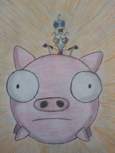 ride the piggy!