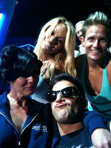 shannen DANCING WITH THE STARS Rehearsal