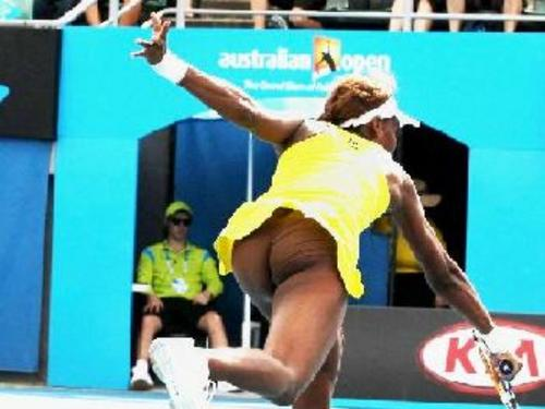 venus williams नितंब, गधा