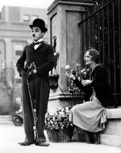 Charlie Chaplin Обои entitled * BEAUTY & TRAMP *