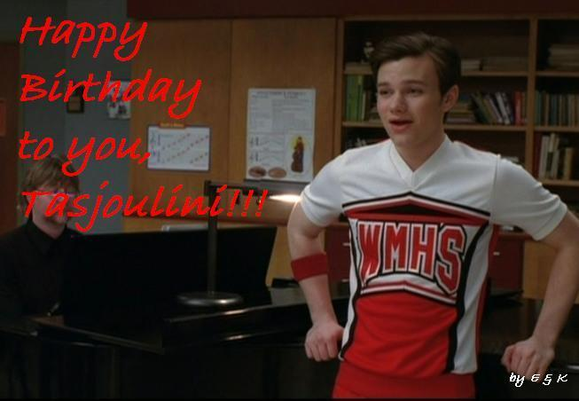 Kurt Hummel sings Happy Birthday!