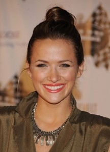 Shantel VanSanten at Rally For Kids With Cancer Scavenger Cup Press Conference