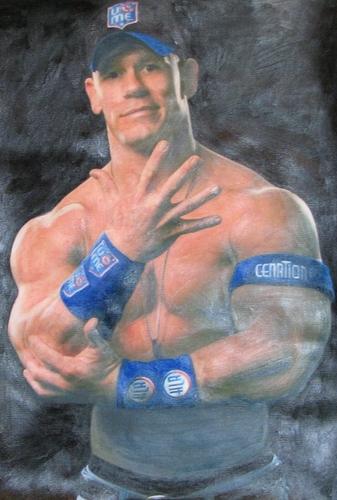 AMAZING John Cena Painting