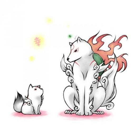 Amaterasu & Chibiterasu