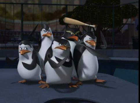 Penguin vs Spiders vs Wolves Attack-penguins-of-madagascar-12671998-484-355