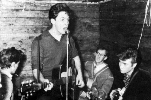 Beatles at the Casbah Club